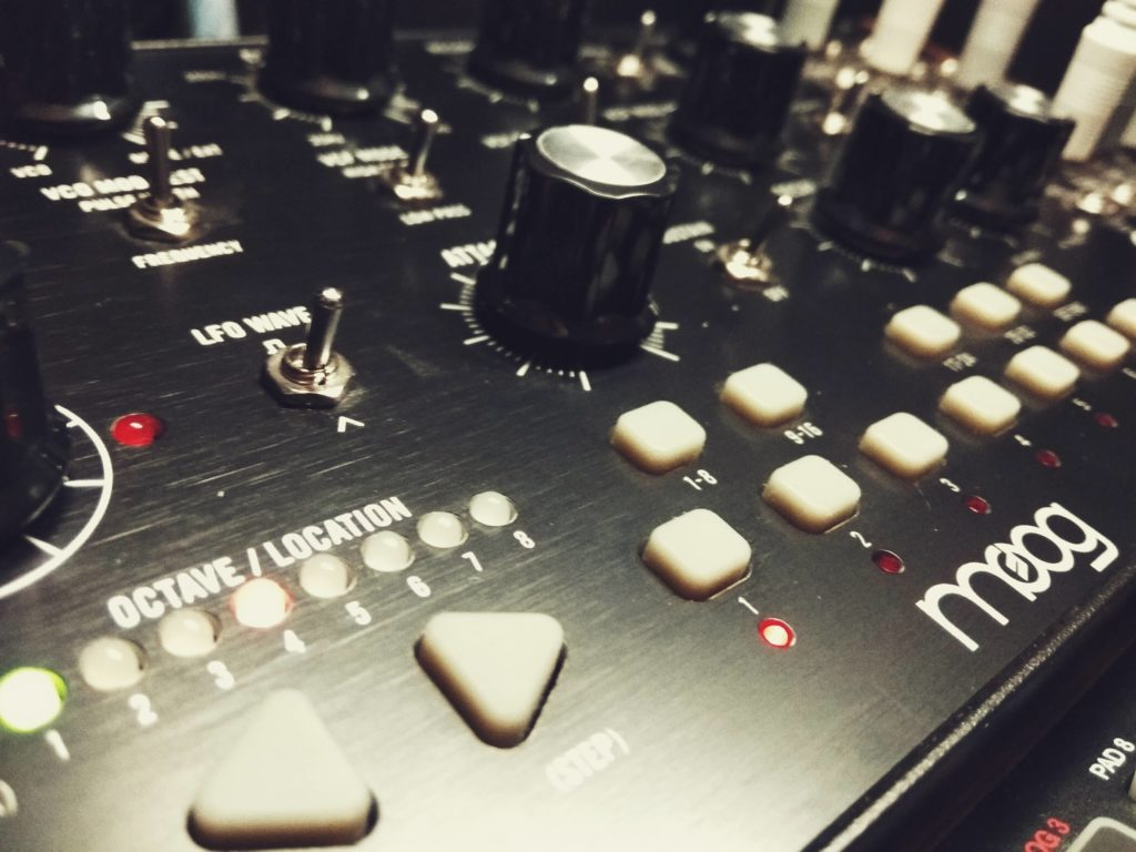 Registrare il synth - Moog Mother-32